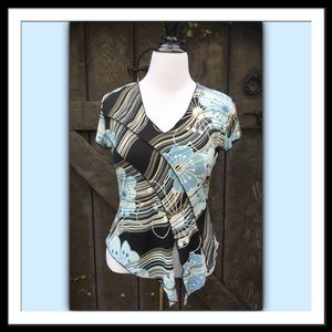 Susan Lawrence Short Sleeved Top, XL